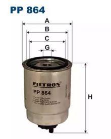 Паливний фільтр FILTRON PP864.
