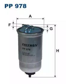 Паливний фільтр FILTRON PP978.