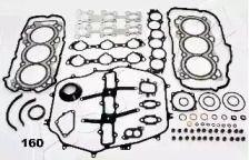 Комплект прокладок двигуна ASHIKA 49-01-160.