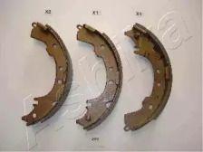 Барабанні гальмівні колодки ASHIKA 55-02-297.