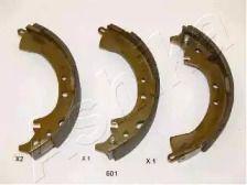 Барабанні гальмівні колодки ASHIKA 55-06-601.