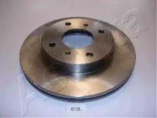 Вентилируемый передний тормозной диск на Ниссан 100Сх 'ASHIKA 60-00-015'.