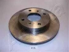 Вентилируемый передний тормозной диск на NISSAN PRAIRIE 'ASHIKA 60-00-015'.