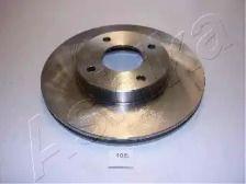 Вентилируемый передний тормозной диск 'ASHIKA 60-01-108'.