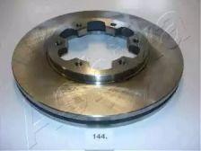 Вентилируемый передний тормозной диск на NISSAN TERRANO 'ASHIKA 60-01-144'.