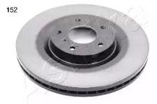Вентилируемый передний тормозной диск на INFINITI FX 'ASHIKA 60-01-152'.