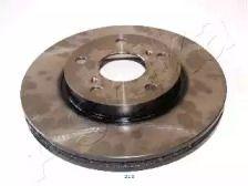 Вентилируемый передний тормозной диск 'ASHIKA 60-02-229'.