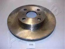 Вентилируемый передний тормозной диск на Тайота Корона 'ASHIKA 60-02-233'.
