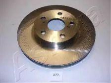 Вентилируемый передний тормозной диск на TOYOTA PRIUS 'ASHIKA 60-02-277'.