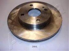 Вентильований передній гальмівний диск на MAZDA DEMIO ASHIKA 60-03-344.