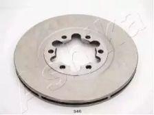 Вентильований передній гальмівний диск на MAZDA E-SERIE ASHIKA 60-03-346.
