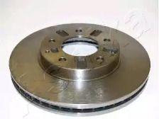 Вентилируемый передний тормозной диск на MAZDA XEDOS 9 'ASHIKA 60-03-354'.