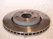 Вентилируемый передний тормозной диск на Хонда Кросстур 'ASHIKA 60-04-405'.