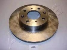 Вентилируемый передний тормозной диск 'ASHIKA 60-04-416'.