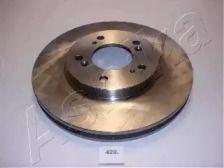 Вентилируемый передний тормозной диск на HONDA NSX 'ASHIKA 60-04-429'.