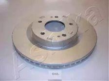 Вентилируемый передний тормозной диск на MITSUBISHI GRANDIS 'ASHIKA 60-05-542'.