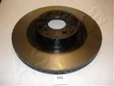 Вентилируемый передний тормозной диск на TOYOTA GT86 'ASHIKA 60-07-725'.