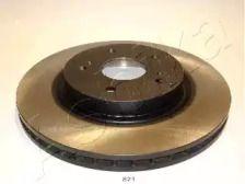 Вентилируемый передний тормозной диск 'ASHIKA 60-08-821'.