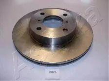 Вентилируемый передний тормозной диск на Сузуки Лиана 'ASHIKA 60-08-891'.