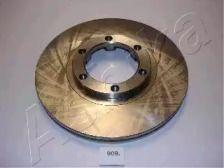 Вентилируемый передний тормозной диск на ISUZU GEMINI 'ASHIKA 60-09-909'.