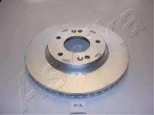 Вентилируемый передний тормозной диск на Киа Каренс 'ASHIKA 60-0H-012'.