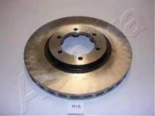 Вентилируемый передний тормозной диск на Хендай Терракан 'ASHIKA 60-0H-013'.