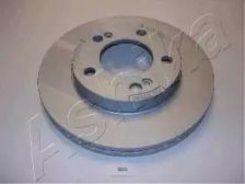 Вентилируемый передний тормозной диск на SSANGYONG REXTON 'ASHIKA 60-0S-S03'.