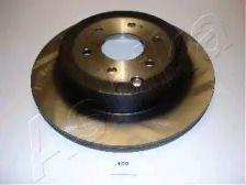 Вентилируемый задний тормозной диск на NISSAN NAVARA 'ASHIKA 61-01-100'.