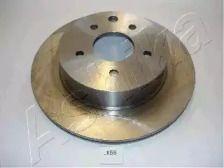 Вентилируемый задний тормозной диск на Ниссан Лиф 'ASHIKA 61-01-158'.