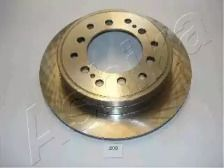 Вентилируемый задний тормозной диск на TOYOTA LAND CRUISER PRADO 'ASHIKA 61-02-209'.