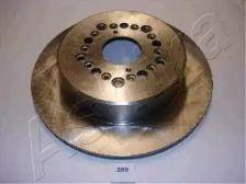 Вентилируемый задний тормозной диск на TOYOTA SUPRA 'ASHIKA 61-02-259'.