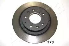 Задний тормозной диск на MAZDA CX-3 'ASHIKA 61-03-320'.