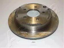 Вентильований задній гальмівний диск на Мазда МПВ ASHIKA 61-03-324.