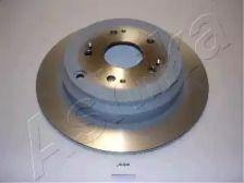 Задній гальмівний диск 'ASHIKA 61-04-444'.