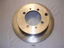 Задний тормозной диск на Митсубиси Спейс Раннер 'ASHIKA 61-05-510'.
