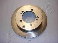 Вентилируемый задний тормозной диск на Митсубиси Сигма 'ASHIKA 61-05-513'.