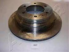 Вентилируемый задний тормозной диск на Опель Монтерей 'ASHIKA 61-09-997'.