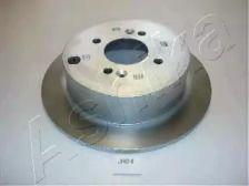 Задний тормозной диск на Хендай Ай икс 55 'ASHIKA 61-0H-001'.