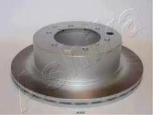 Вентилируемый задний тормозной диск на HYUNDAI TERRACAN 'ASHIKA 61-0H-005'.