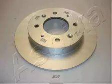 Задний тормозной диск на KIA CERATO 'ASHIKA 61-0K-K07'.