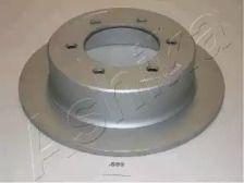 Задний тормозной диск на SSANGYONG MUSSO 'ASHIKA 61-0S-099'.