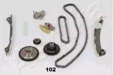 Комплект ланцюга ГРМ ASHIKA KCK102.