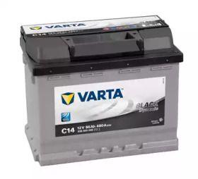 Аккумулятор на VOLKSWAGEN GOLF 'VARTA 5564000483122'.