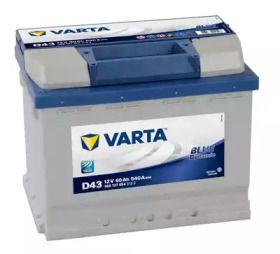 Акумулятор на DODGE AVENGER 'VARTA 5601270543132'.