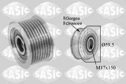 Шків генератора на Мазда МПВ SASIC 1676033.