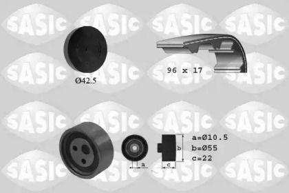 Комплект ременя ГРМ SASIC 1754003.