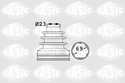 Комплект пыльника ШРУСа на Сеат Альтеа 'SASIC 1906024'.