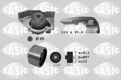 Комплект ГРМ з помпою SASIC 3900023 малюнок 0