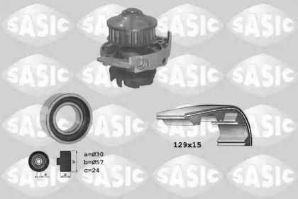Комплект ГРМ з помпою SASIC 3906017.