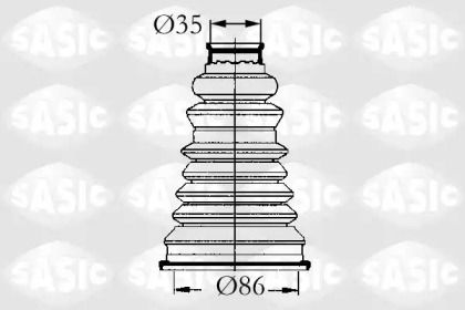 Комплект пыльника ШРУСа 'SASIC 4003432'.